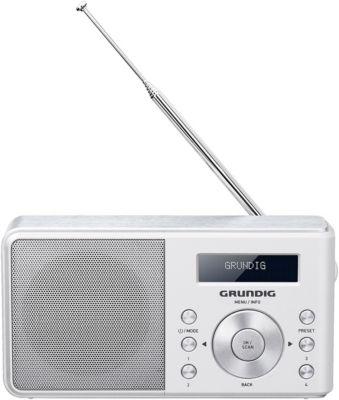 Radio numérique Grundig MUSIC 55 DAB+ Blanc