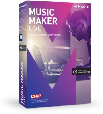 magix music maker live 2017 logiciel pc boulanger. Black Bedroom Furniture Sets. Home Design Ideas