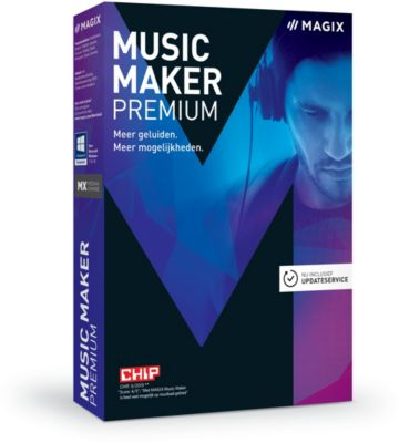 Logiciel de musique Magix Music Maker Premium 2017
