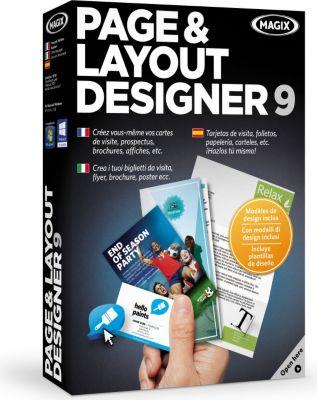 magix page layout designer 9 logiciel pc boulanger. Black Bedroom Furniture Sets. Home Design Ideas