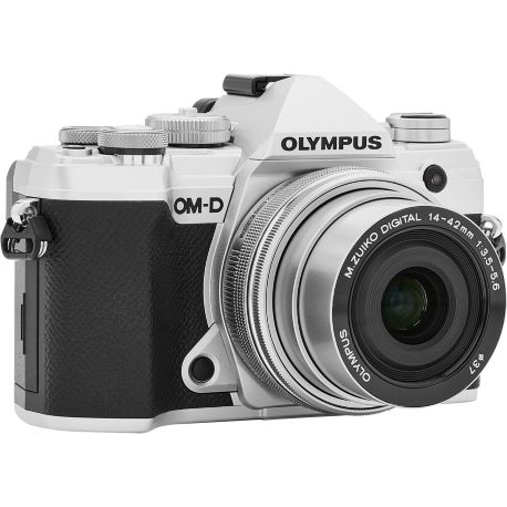 Appareil photo numérique OLYMPUS E-M5 Mark III Silver + 14-42mm EZ Silver