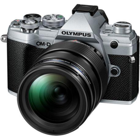 Appareil photo numérique OLYMPUS E-M5 Mark III Silver + 12-40mm EZ Noir