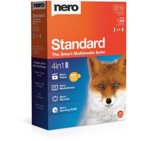 Logiciel PC  NERO Standard 2019