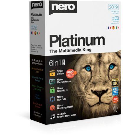Logiciel PC  NERO Platinum 2019