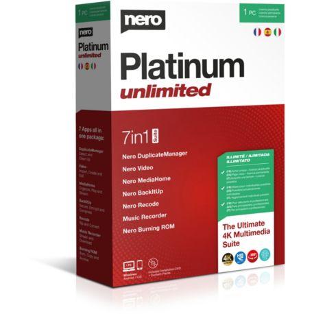 Logiciel PC  NERO Platinum Unlimited