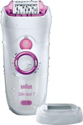 Epilateur Électrique braun silk-Épil 7 521 wet & dry