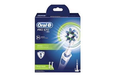 Brosse ORAL-B PRO 670 CROSS ACTION