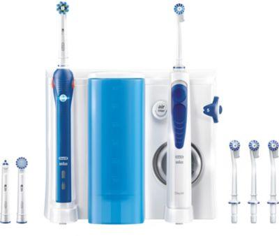 Combiné Dentaire oral-B pro 2000 oxyjet