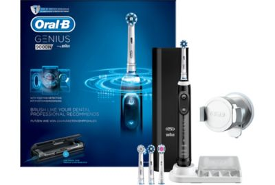 Brosse ORAL-B Black Genius S 9000 Cross Action