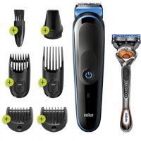 Tondeuse barbe et cheveux BRAUN MGK 5245