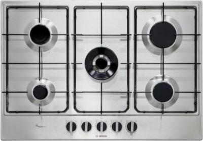 plaque gaz bosch pcq7a5b80 boulanger. Black Bedroom Furniture Sets. Home Design Ideas