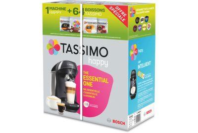 Distrib boisson BOSCH Happy TAS1002 + 4 packs T-Discs