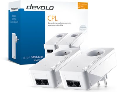 CPL Devolo dLAN 1000 Duo + Starter Kit