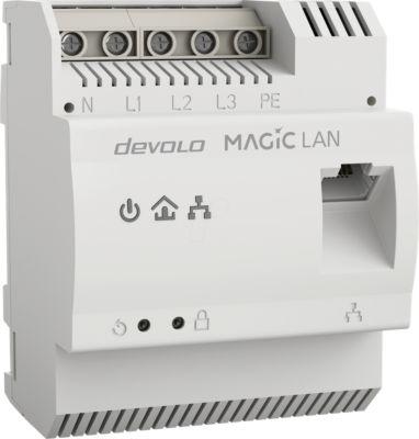 DEVOLO Magic 2 LAN DINrail Pont GigE Montage sur rail DIN