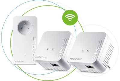 CPL Trio DEVOLO Magic 1 WiFi mini Multir