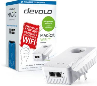 CPL Wifi Devolo Magic 2 Wifi Next - 1 adaptateur