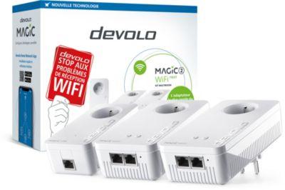 CPL Wifi Devolo Magic 2 Wifi NEXT - 3 adaptateurs