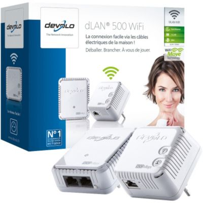 Cpl Devolo dlan 500 wifi starter kit