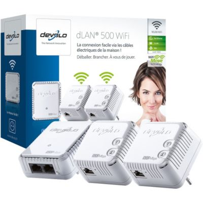 Cpl Devolo dlan 500 wifi network kit