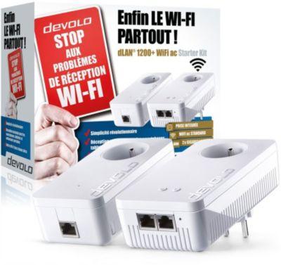 CPL Wifi Devolo dLAN 1200+ Wifi Ac Starter Kit