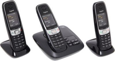 gigaset c620a trio t l phone sans fil boulanger. Black Bedroom Furniture Sets. Home Design Ideas