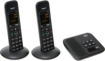 Téléphone sans fil Gigaset C570A Duo Noir