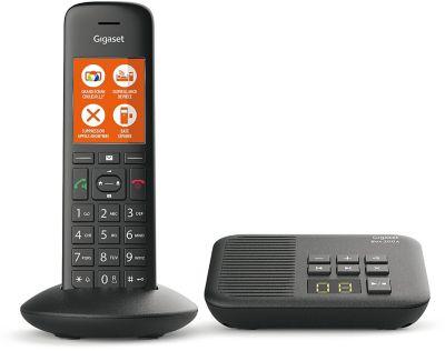 Téléphone sans fil Gigaset C570A Noir