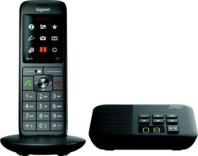 Téléphone sans fil Gigaset CL660A Solo Noir
