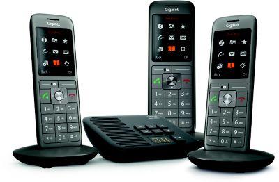 Téléphone sans fil Gigaset CL660A Trio Noir