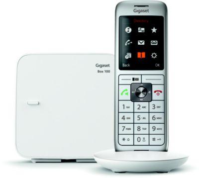 Téléphone sans fil Gigaset CL660 Solo Blanc