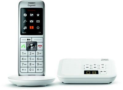 Téléphone sans fil Gigaset CL660A Solo Blanc