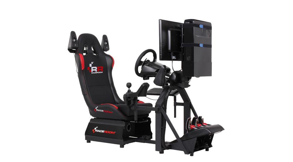 si ge gamer raceroom rr3055 si ge de simulation de course neuf ebay. Black Bedroom Furniture Sets. Home Design Ideas