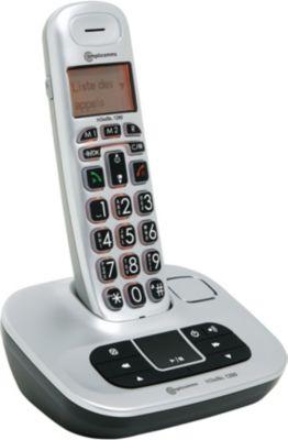 amplicomms bigtel 1280 t l phone sans fil boulanger. Black Bedroom Furniture Sets. Home Design Ideas