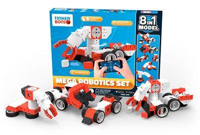 Robot connecté TINKERBOTS Robotics mega set