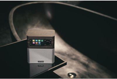 Radio SONORO sonoroSTREAM walnut/noir