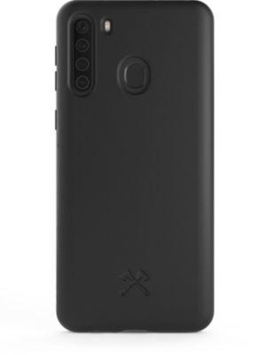Coque Woodcessories Samsung A21s BioCase noir