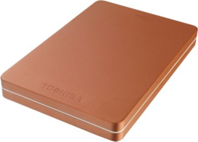 Disque dur externe Toshiba 2.5'' 1To Canvio Alu Rouge