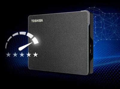 Disque dur externe Toshiba Canvio GAMING 1 To Noir