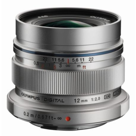 Objectif OLYMPUS 12mm f/2 silver M.Zuiko