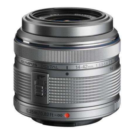 Objectif OLYMPUS Digital ED 14-42mm II R 1:3.5-5.6 Argent