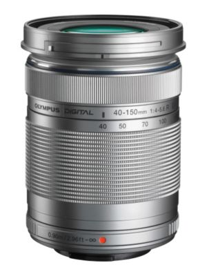 Objectif pour Hybride Olympus 40-150mm R f/4.0-5.6 silver M.Zuiko