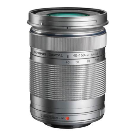 Objectif OLYMPUS 40-150mm R f/4.0-5.6 silver M.Zuiko