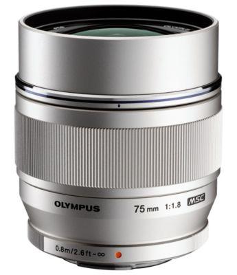 Objectif Olympus 75mm f/1.8 ED Silver M.Zuiko Digital