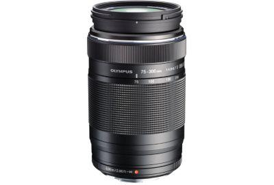 Obj OLYMPUS 75-300mm f/4.8-6.7 II noir M.Zuiko