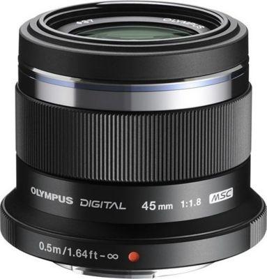 Objectif Olympus 45mm 1:1.8 / Noir M.ZUIKO