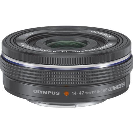 Objectif OLYMPUS 14-42mm f/3.5-5.6 EZ noir Pancake