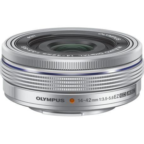 Objectif OLYMPUS 14-42mm f/3.5-5.6 EZ silver Pancake