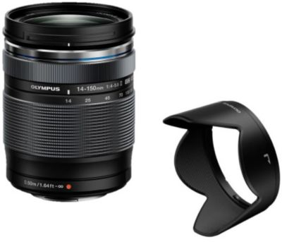 Objectif pour Hybride Olympus 14-150mm f/4.0-5.6 II noir M.Zuiko