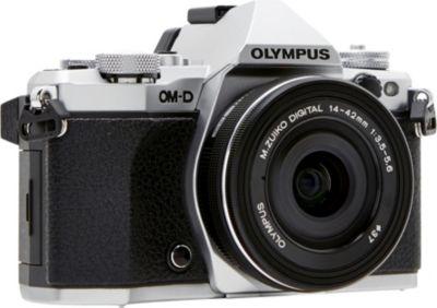Appareil photo Hybride Olympus OM-D E-M5 Mark II Silver + 14-42mm EZ