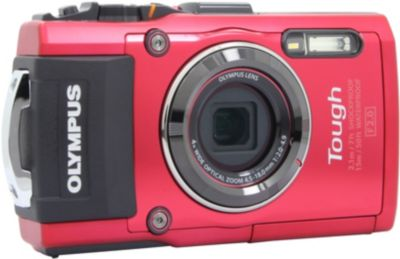 Olympus tg 4 rouge appareil photo compact boulanger - Appareil photo compact boulanger ...